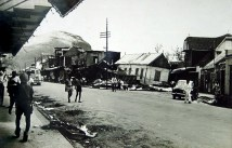Port Louis - Cyclone Carol - Feb 1960 - Desforges Street - (Courtesy: Mohammad Faiz)