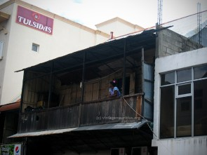 Port Louis - Desforges Street - Old Colonial House - Balcony