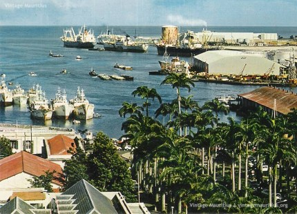 Port Louis Harbour and Waterfront 1970s