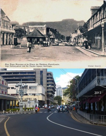 Port Louis - Pope Henessy Street - 1890s/2013
