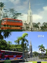Rose Hill - Mont Martre Church from Plaza - 1969/2014