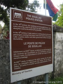 Souillac Police Station history