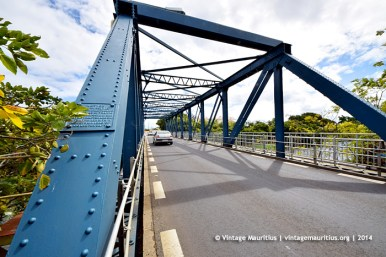 Tamarin Steel Bridge - 2014