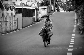 The Traditional Newspaper Seller - Mauritius