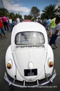 White Beetle VW Classic Vintage Car Mauritius