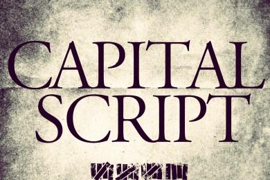 Capital Script Art 2