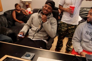 Young Buck & The Game Hit The Studio Together