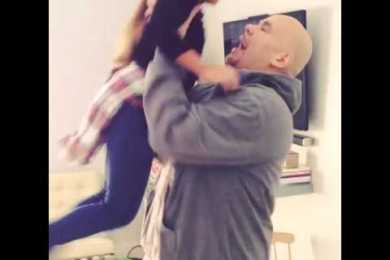 Fat Joe Surprises His Daughter On Thanksgiving