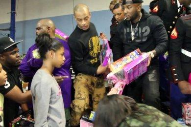 T.I. & Jeezy Hold Toy Drive In Atlanta