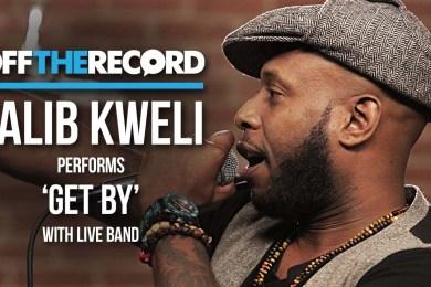 "Talib Kweli & Live Band Perform ""Get By"""