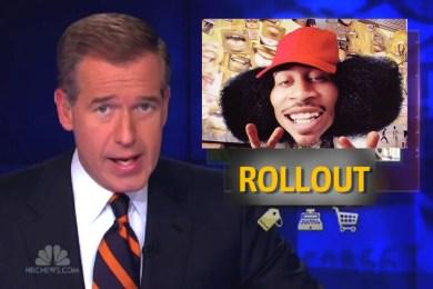 "Brian Williams Raps Ludacris' ""Rollout (My Business)"""