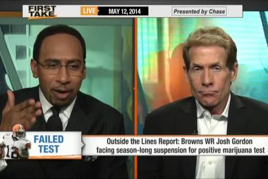 Stephen A. Smith Going Off On Browns WR, Josh Gordon, For Season-Long Suspension Over Weed