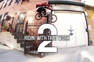 "Nigel Sylvester (NYC BMX Street Rider) ""Ridin' With That Work 2″ Feat. Pharrell Williams"