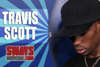 Travi$ Scott Off The Top Freestyle On Sway In The Morning