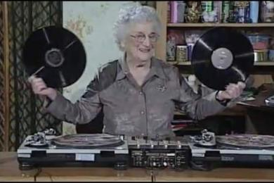 OG Granny Shows You How To Create A Mash-Up (Rewind Clip)