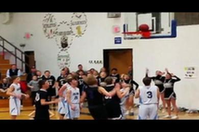 Basketball Team Loses Title Game After Final Shot Gets Stuck On Rim
