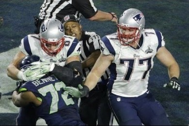 Fight Breaks Out Between Seahawks & Patriots At The End Of Super Bowl 2015