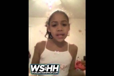 Little Girl Raps A Letter About Her Deadbeat Father Never Being In Her Life