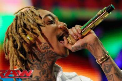 Wiz Khalifa Performs At WWE Raw In Pittsburgh