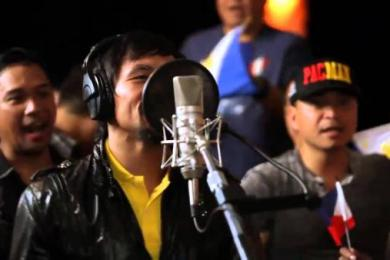 Manny Pacquiao's Official Music Video For Floyd Mayweather Fight
