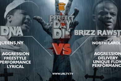 DNA VS Brizz Rawsteen Smack / URL Rap Battle