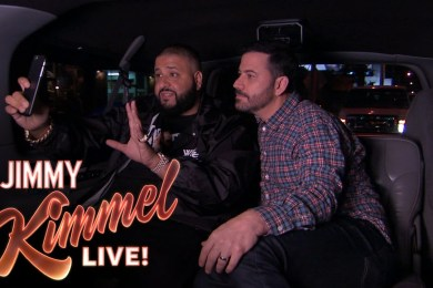 Jimmy Kimmel Enlists DJ Khaled As His Snapchat Coach