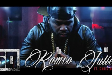 "50 Cent & Chris Brown Take It To The Club For ""No Romeo No Juliet"""
