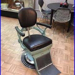 Vintage Dentist Chair Reclining With Ottoman Outdoor Medical Equipment Blog Archive C1930 S Green Ritter Hydraulic Adjustable Near Mint