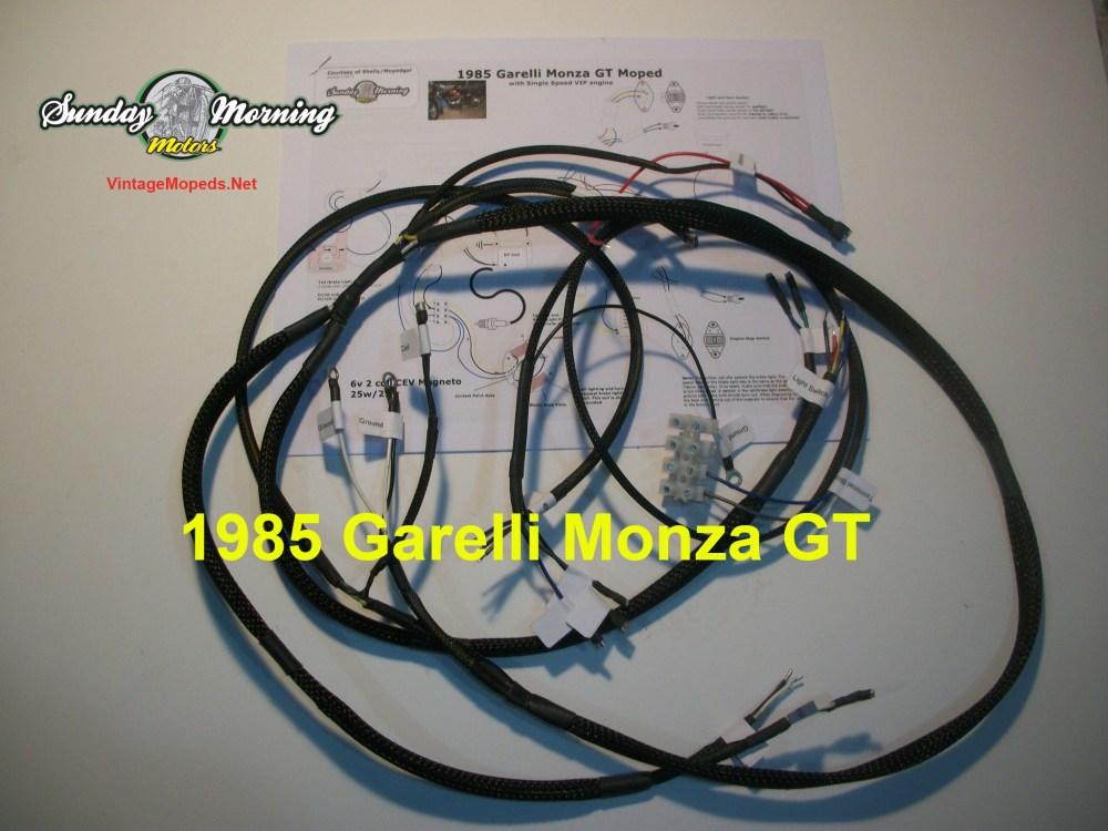 medium resolution of 1985 garelli monza gt wire harness