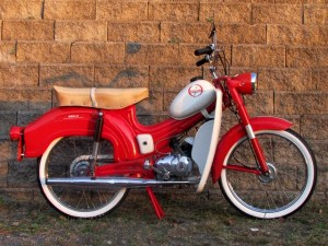 *Reconditioned* 1965 Wards Riverside Moped (Sold) | Sunday Morning Motors