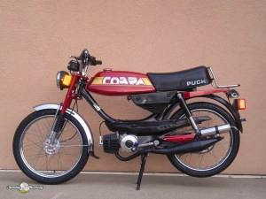 *Restored* 1984 Puch Cobra Moped (Sold)   Sunday Morning Motors