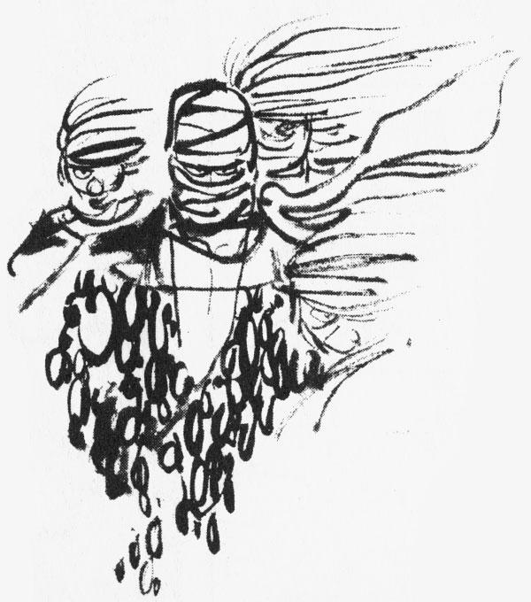 Sanpei sketches