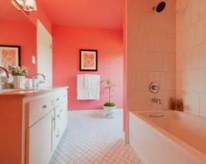 Pintura de interiores de baño