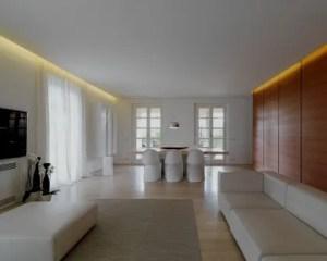 Reforma de chalets interior de salón