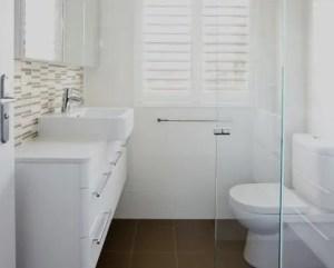 Reforma de cuarto de baño pequeno
