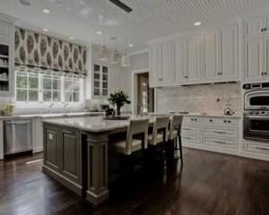 Reformas de cocinas de lujo piso de madera