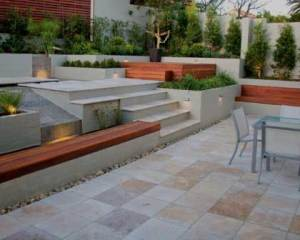 Reformas de exteriores pavimento de piedra