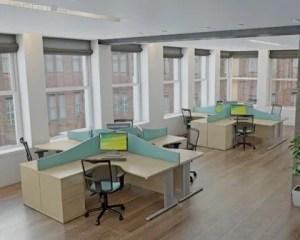 Reformas de oficinas con piso de madera