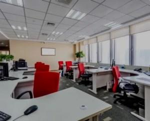 Reformas de oficinas para muchos trabajadores