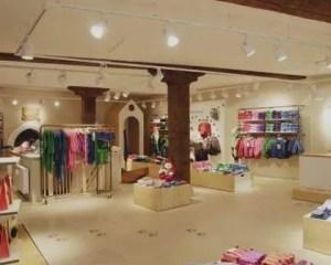 Reformas de tiendas de ropa para niños