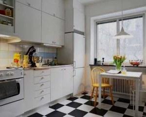 Decoración de cocina en piso