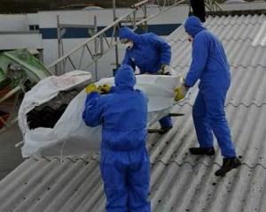 Trabajos para sustitución del amianto