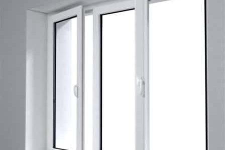 Caixilharia: janela em alumínio.