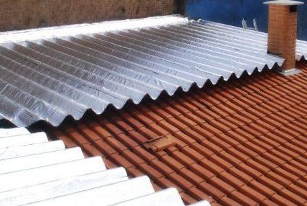 Infiltrações em telhados – Sistema de impermeabilização.