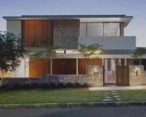 Construção de casas modernas