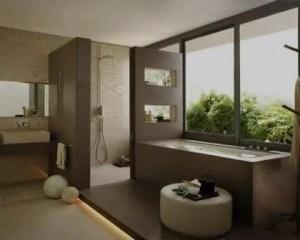 Decoração de casas de banho com banheira