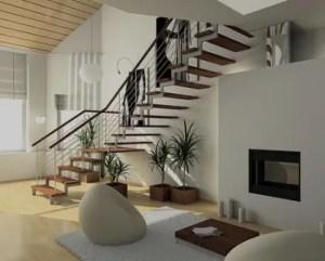Decoração de casas escadas