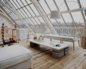 Design de interiores ambiente bem iluminado