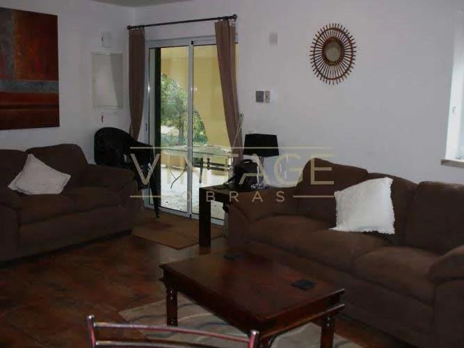 Remodelação de apartamento: Sala de estar