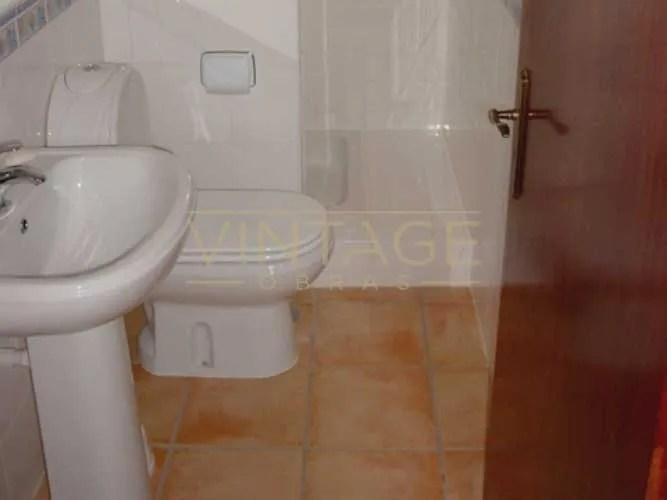Remodelação de casa de banho em Almada